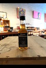 Evan Williams Black Label 86 proof Straight Bourbon Whiskey - Bardstown, KY (50ml nip)
