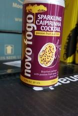 Novo Fogo Passion Fruit and Lime Sparkling Caipirinha - Brazil (200ml can)
