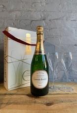 Wine NV Laurent-Perrier Brut La Cuvée Champagne Gift Set with Two Glasses - Champagne France (750ml)