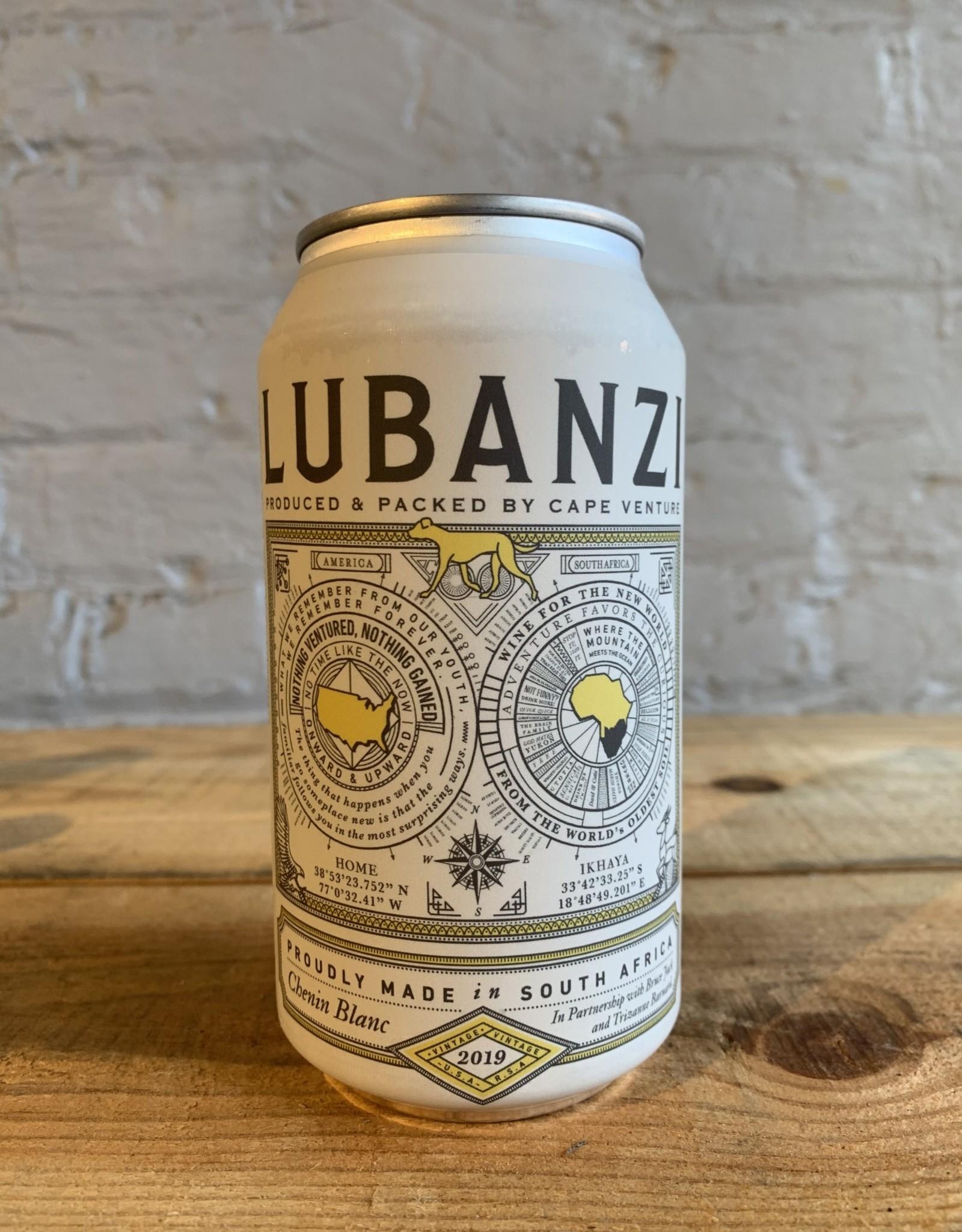 Wine 2019 Lubanzi Chenin Blanc - Swartland, Western Cape, South Africa (375ml can)