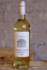 Wine 2019 Chateau de la Mouliniere Blanc - Bordeaux, France (750ml)