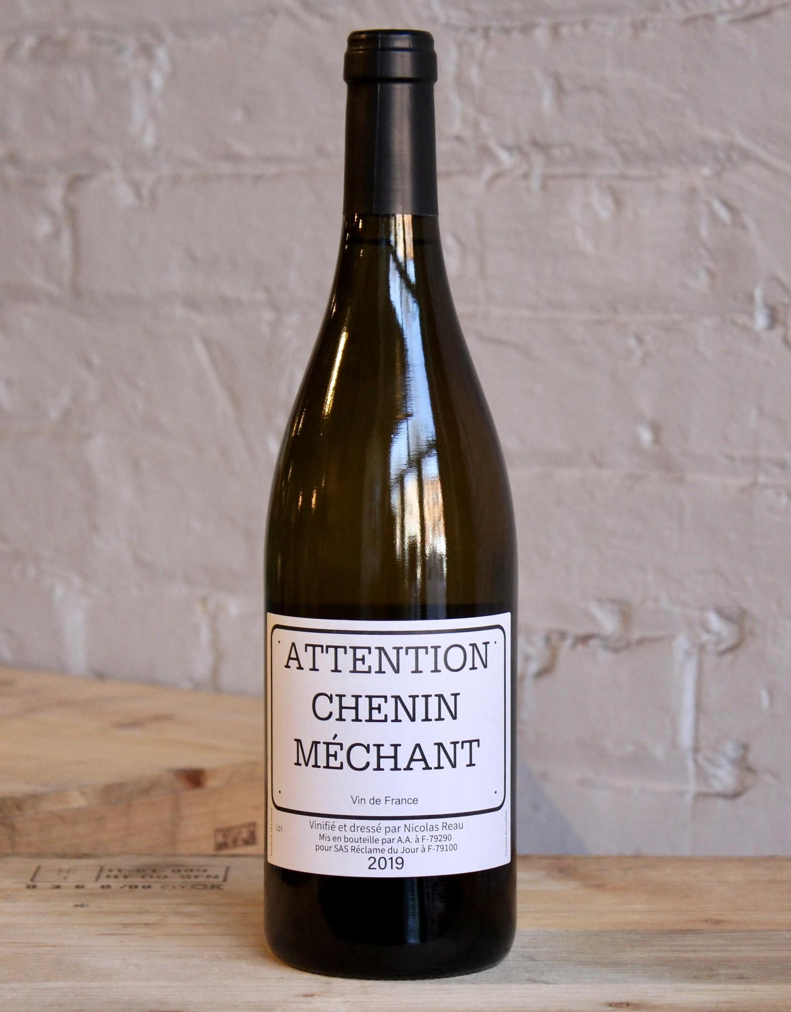Wine 2019 Nicolas Reau Attention Chenin Méchant - Loire Valley, France (750ml)