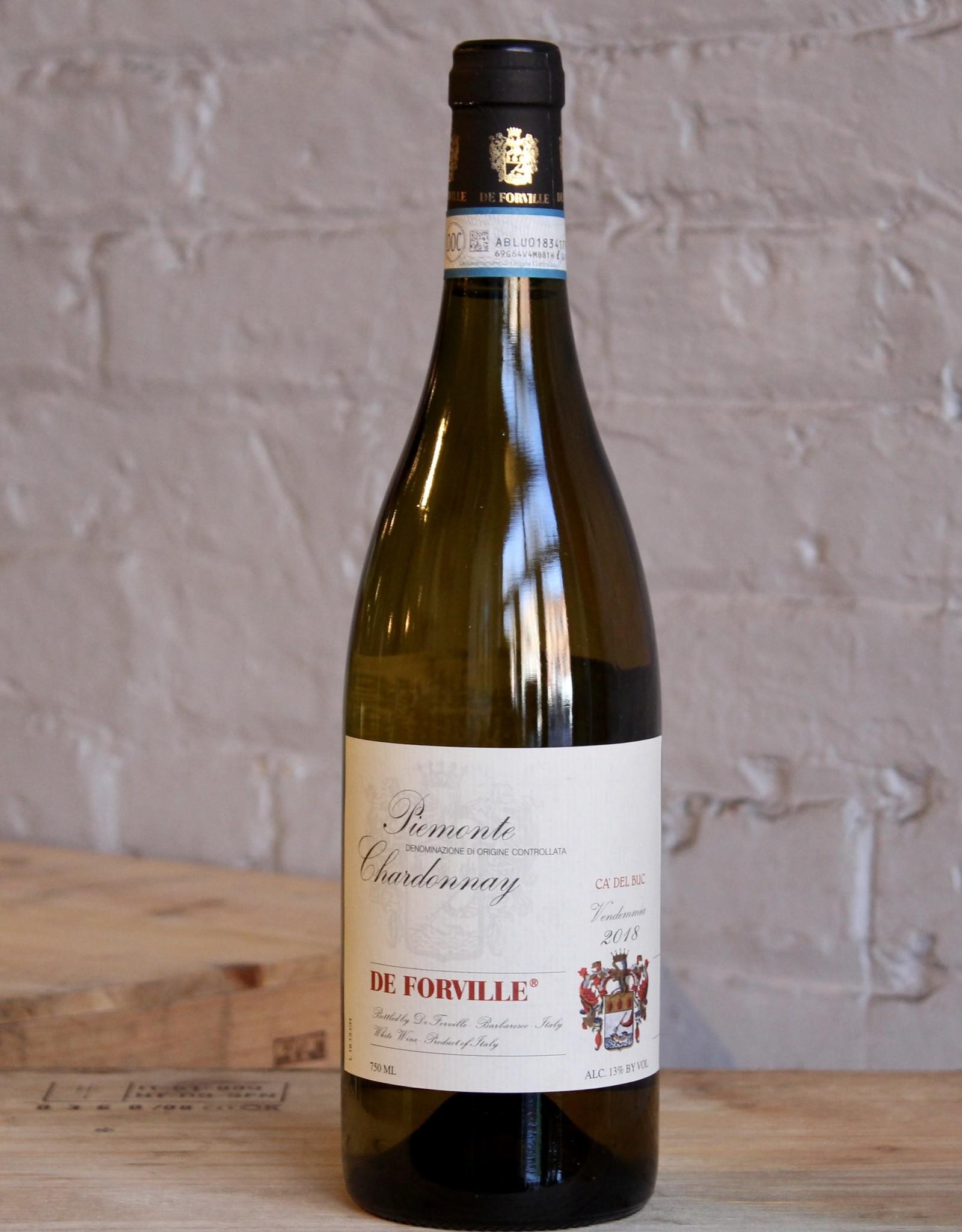 Wine 2018 De Forville Ca' del Buc Chardonnay - Piedmont, Italy (750ml)