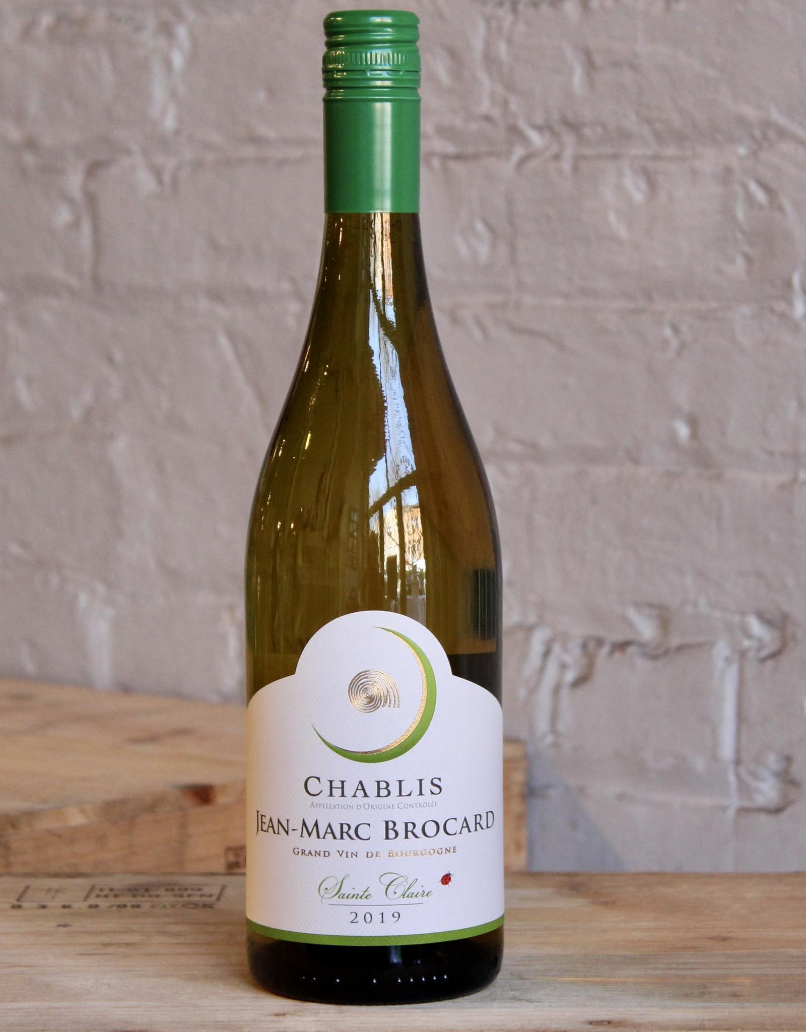 Wine 2019 Jean-Marc Brocard Chablis Sainte Claire - Burgundy, France (750ml)