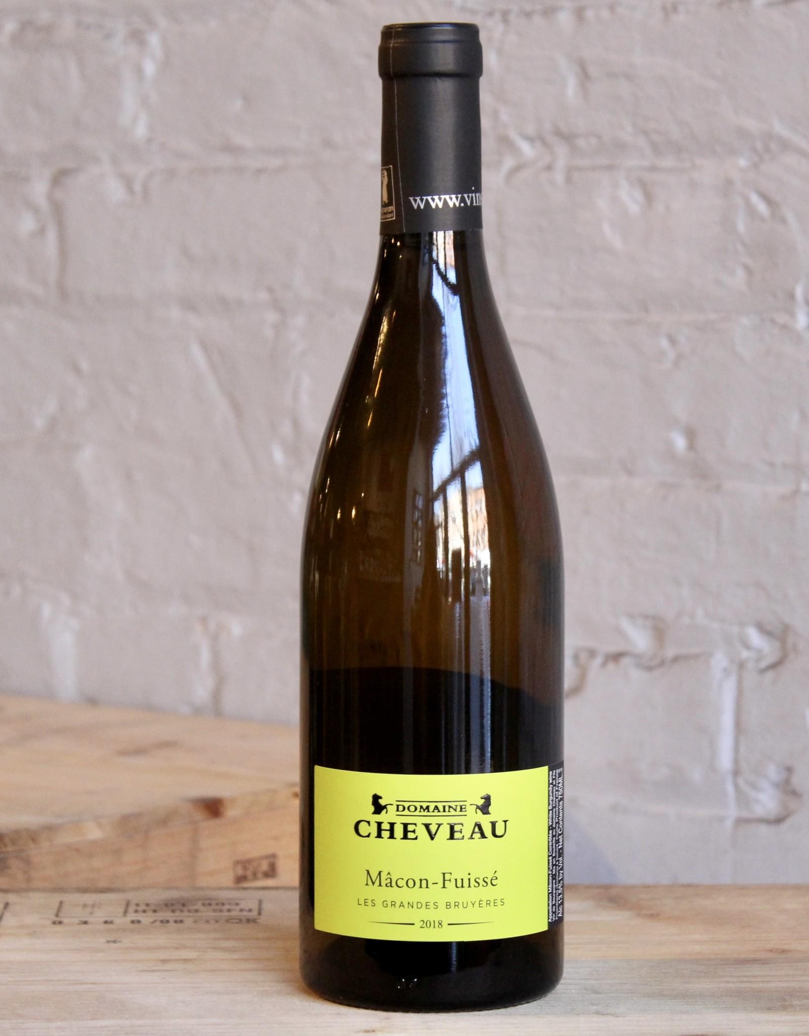 Wine 2018 Domaine Cheveau Mâcon Fuissé Les Grandes Bruyères - Burgundy, France