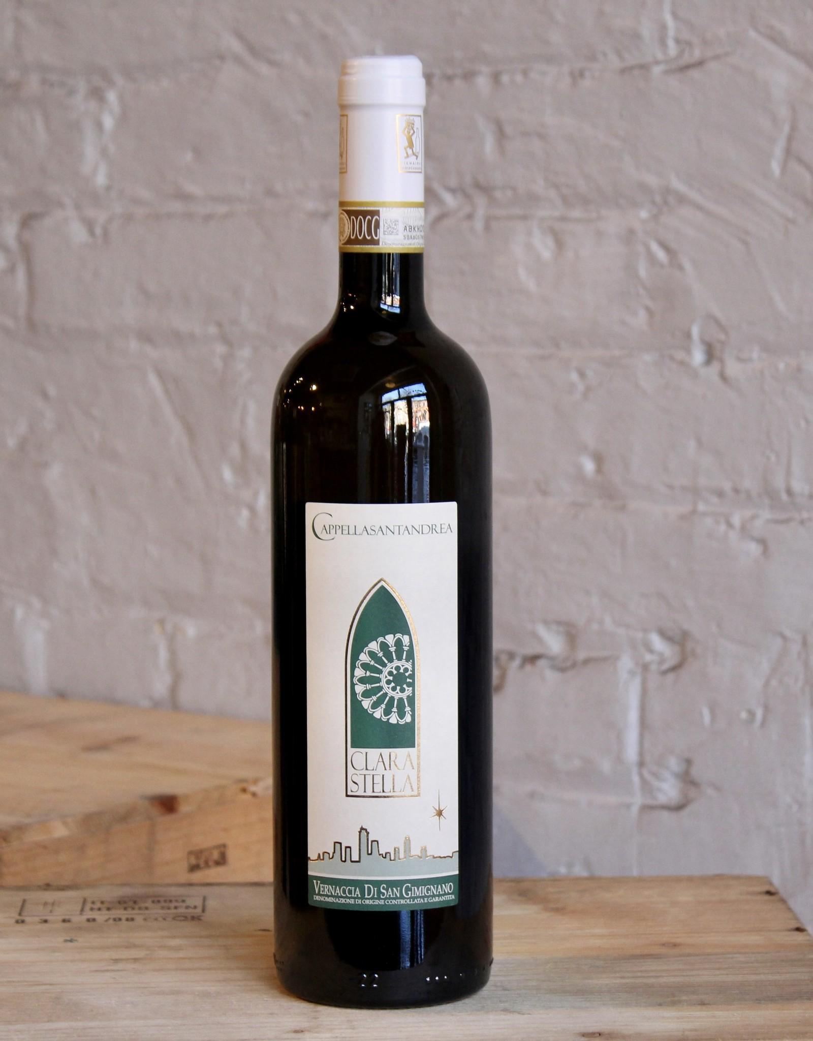 Wine 2018 Cappella Sant' Andrea Clara Stella Vernaccia di San Gimignano - Tuscany, Italy (750ml)