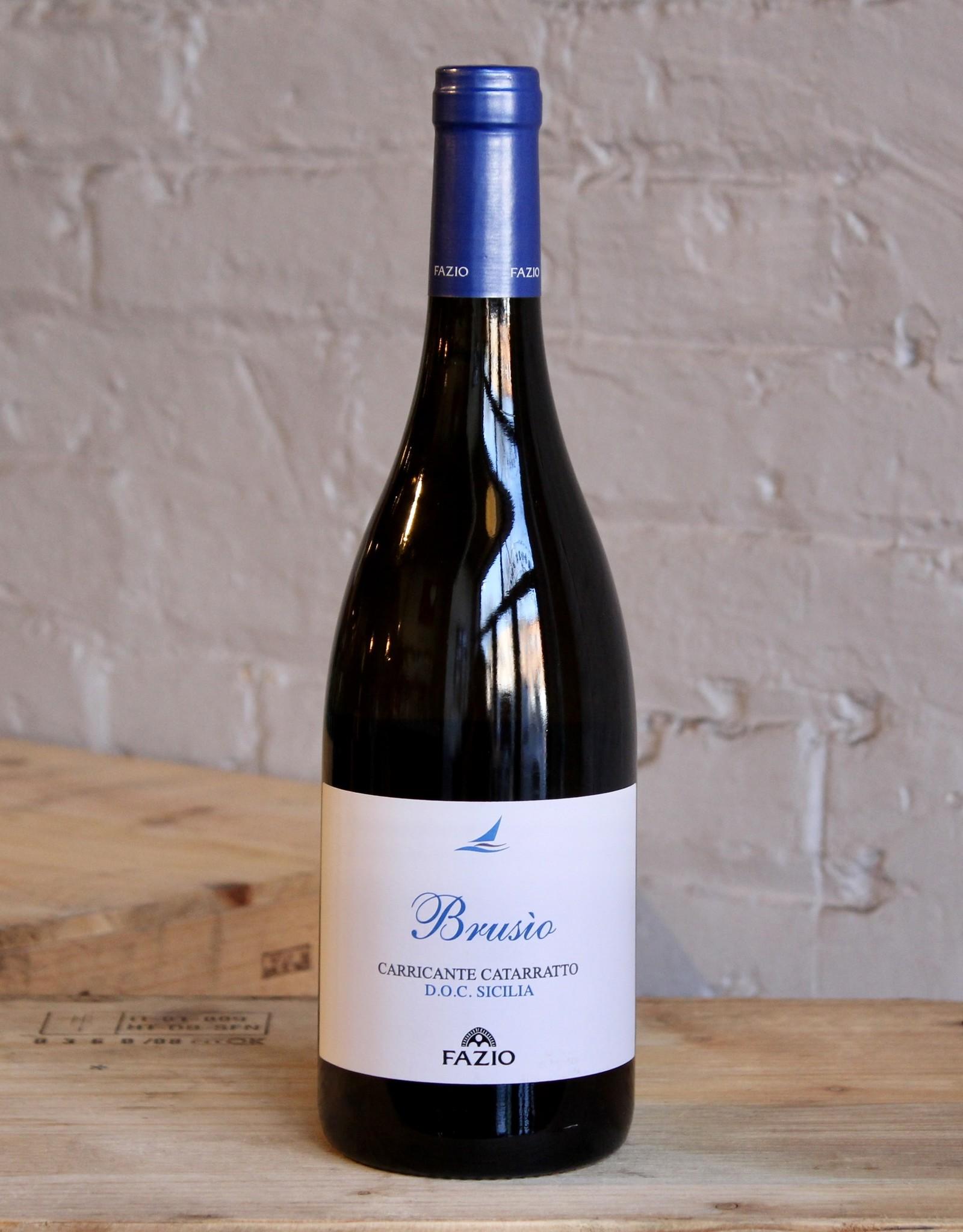 Wine 2018 Fazio Brusio Carricante Catarratto - Sicily, Italy (750ml)