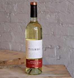 Wine 2018 Tishbi Vineyards Sauvignon Blanc Kosher - Israel (750ml)