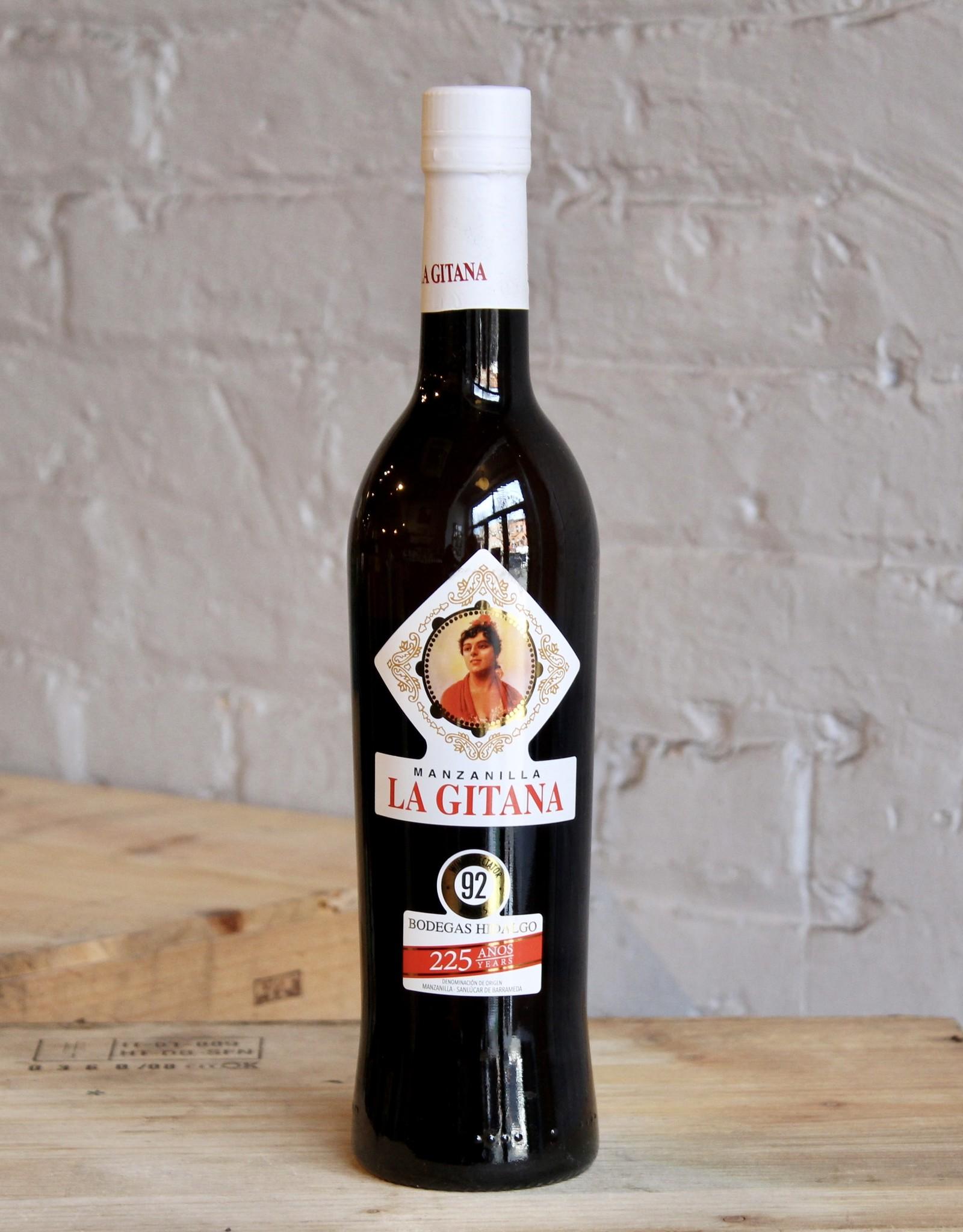 Wine NV Bodegas Hidalgo La Gitana, Manzanilla Sanlucar de Barrameda Sherry - Jerez, Spain (500ml)