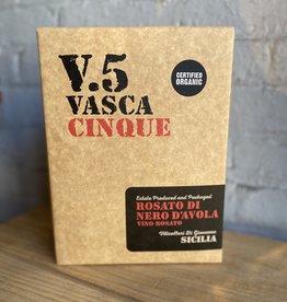 Wine 2020 Vasca Cinque V.5 Rosato di Nero d'Avola - Sicily, Italy (3Ltr Bag in Box)