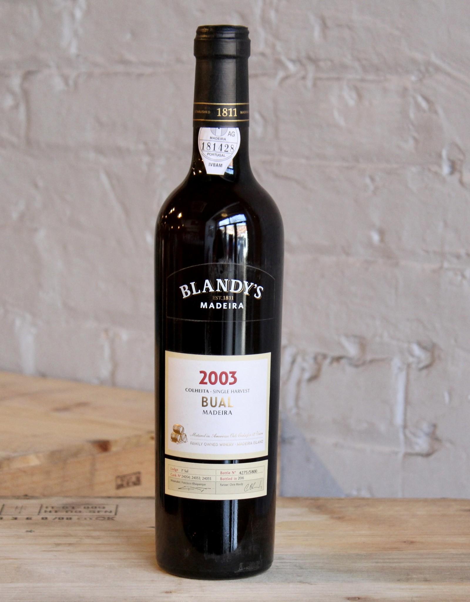 Wine 2003 Blandy's Bual Colheita - Madeira, Portugal (500ml)