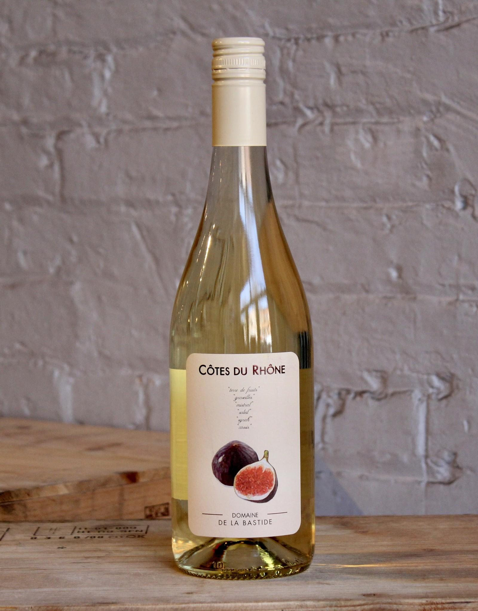 Wine 2020 Domaine de la Bastide 'Figue' Blanc - Cotes du Rhone, France (750ml)