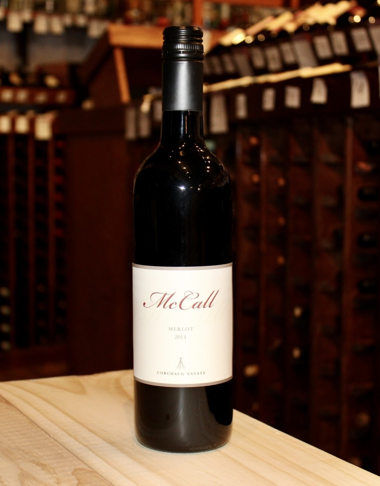Wine 2014 McCall Corchaug Estate Merlot - North Fork of Long Island, NY (750ml)