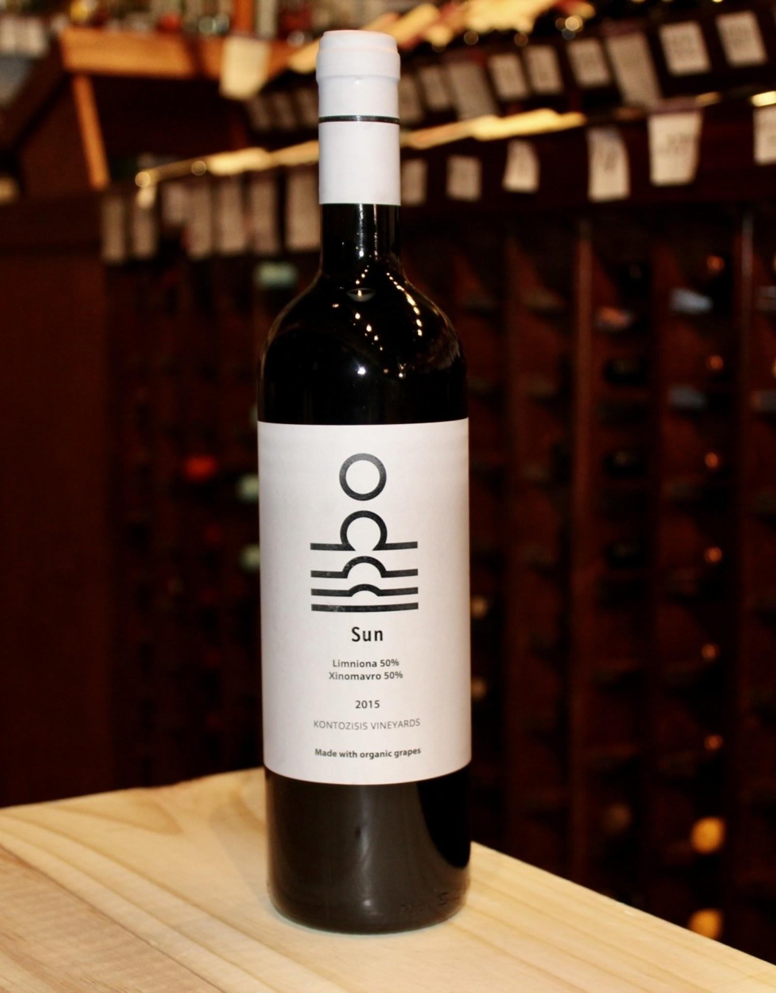 Wine 2015 Kontozisis Sun Limniona-Xinomavro - Karditsa, Thessalia, Greece