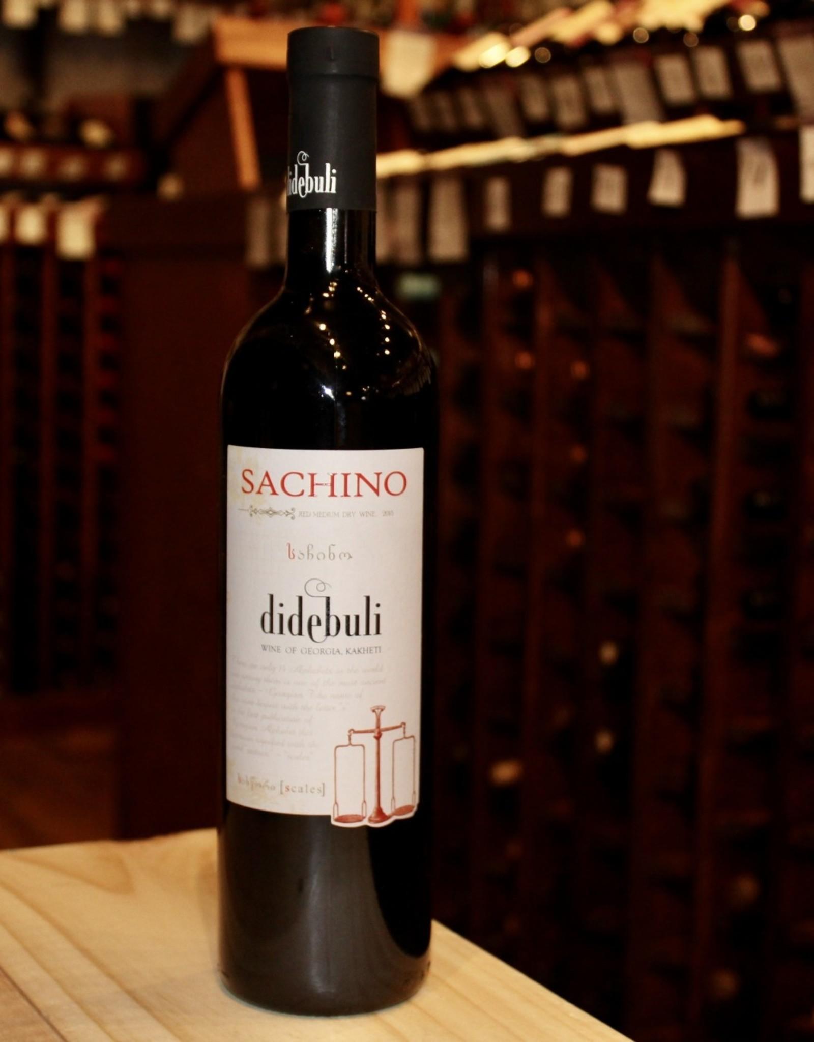 Wine 2018 Didebuli Sachino Red - Kakheti, Georgia (750ml)
