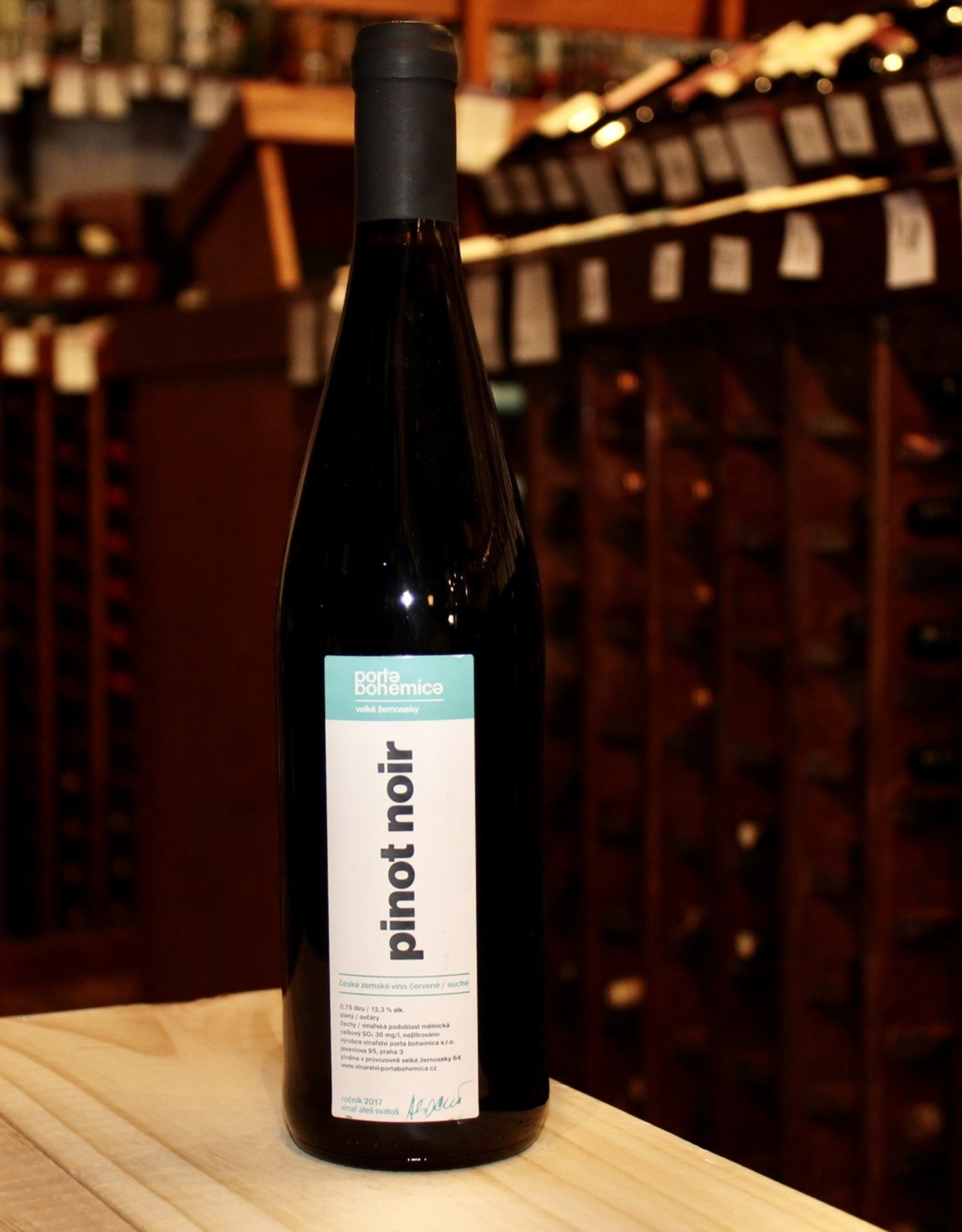 Wine 2017 Porta Bohemica Pinot Noir - Czech Republic (750ml)