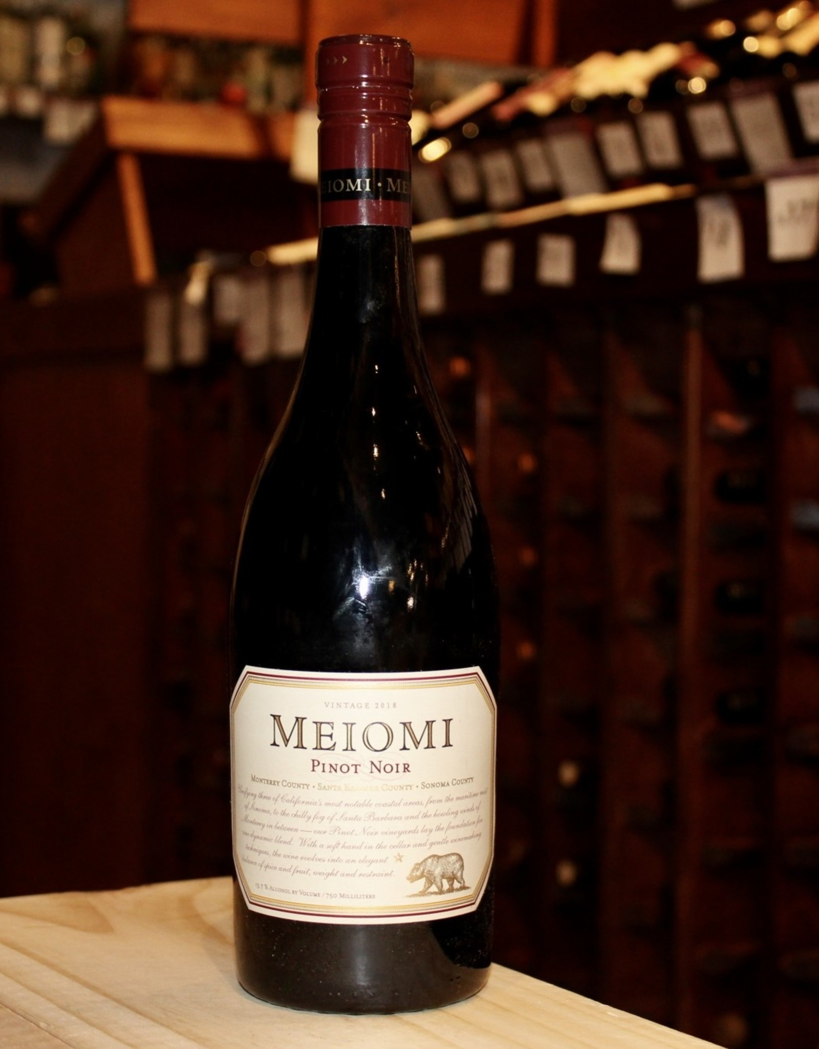 Wine 2018 Meiomi Pinot Noir - California (750ml)