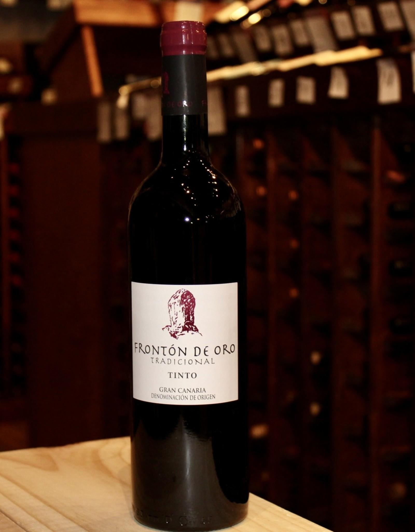 Wine 2018 Fronton de Oro Tinto - Gran Canaria, Canary Islands, Spain