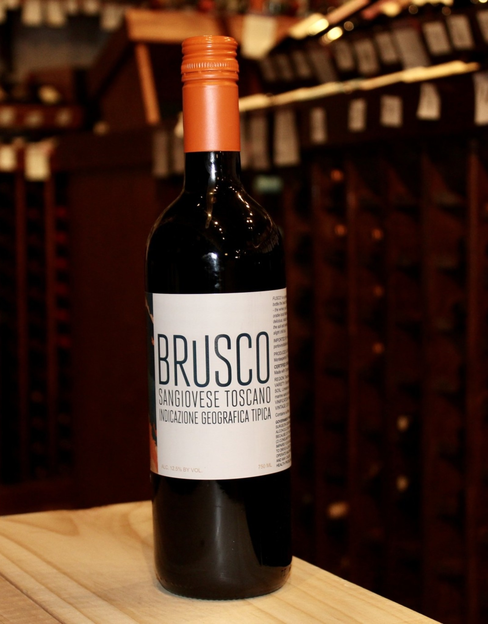 Wine 2018 Brusco Sangiovese - Tuscany, Italy (750ml)