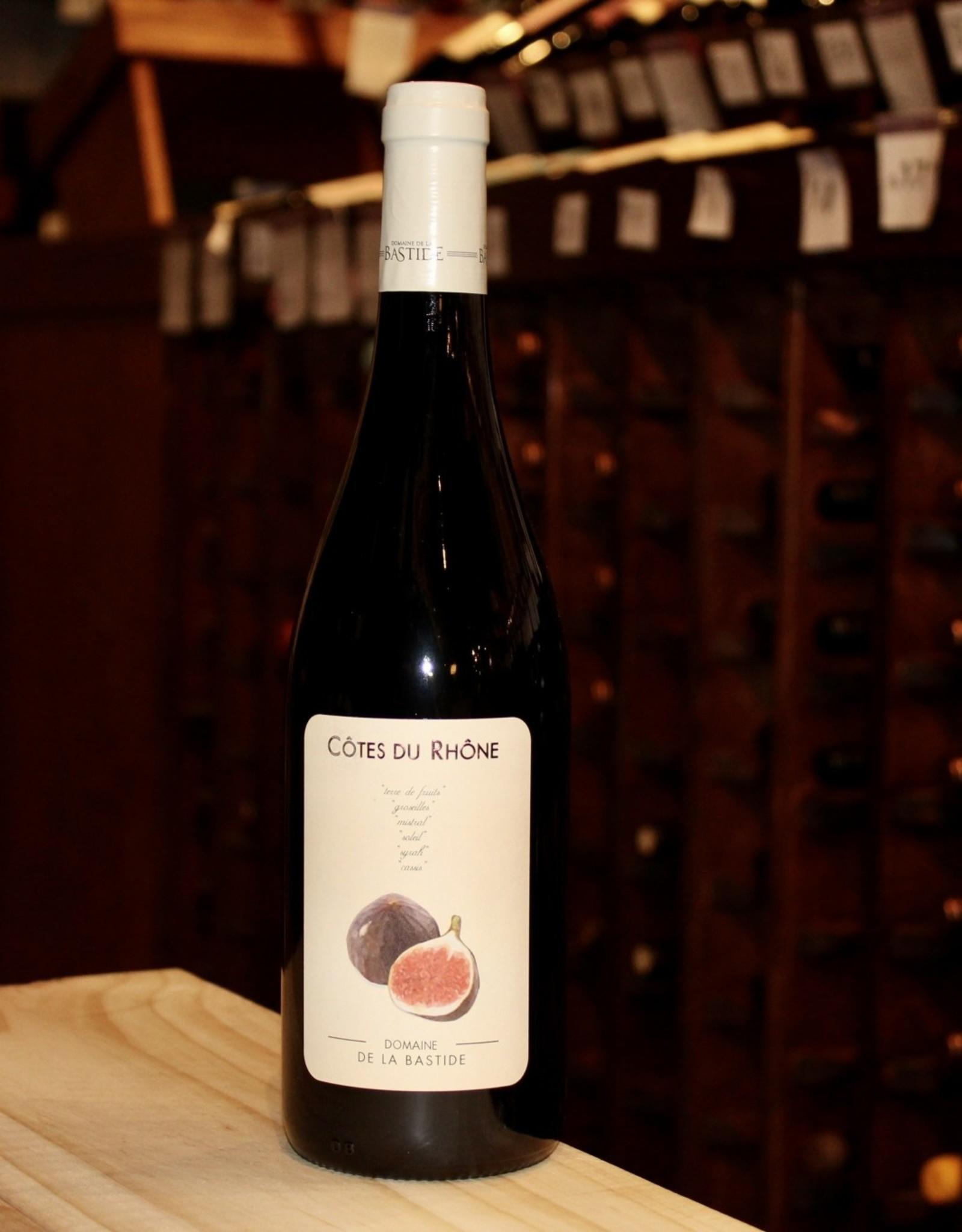 Wine 2019 Domaine de la Bastide 'Figue' Rouge - Cotes du Rhone, France (750ml)