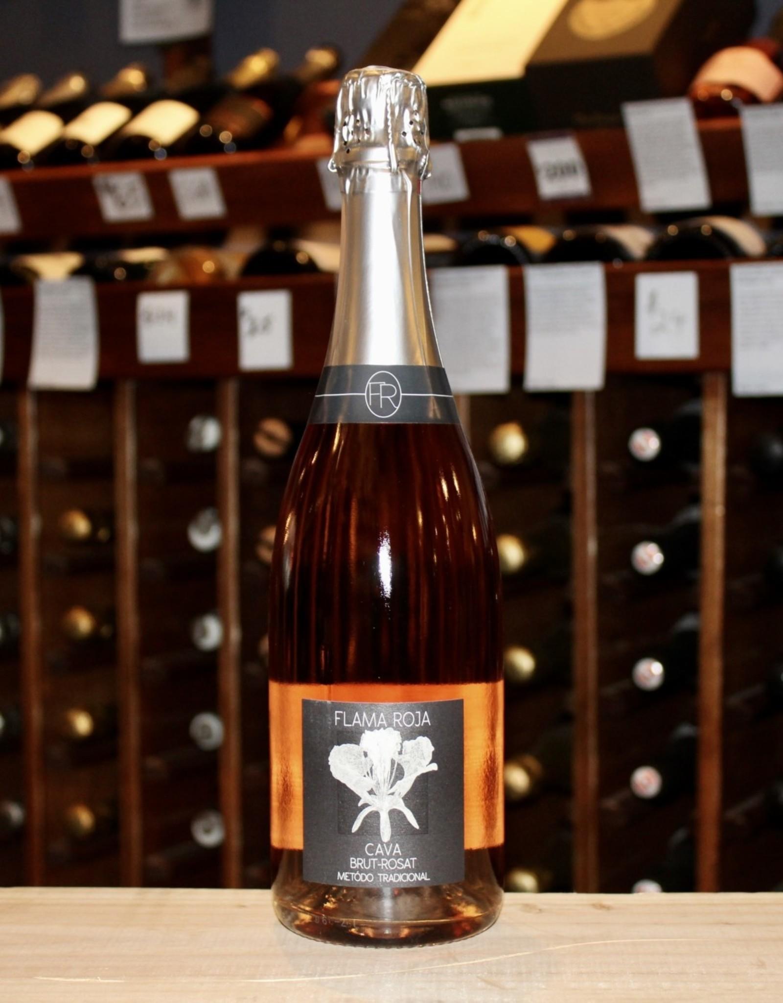 Wine NV Flama Roja Brut Rose Cava - Catalonia, Spain (750ml)