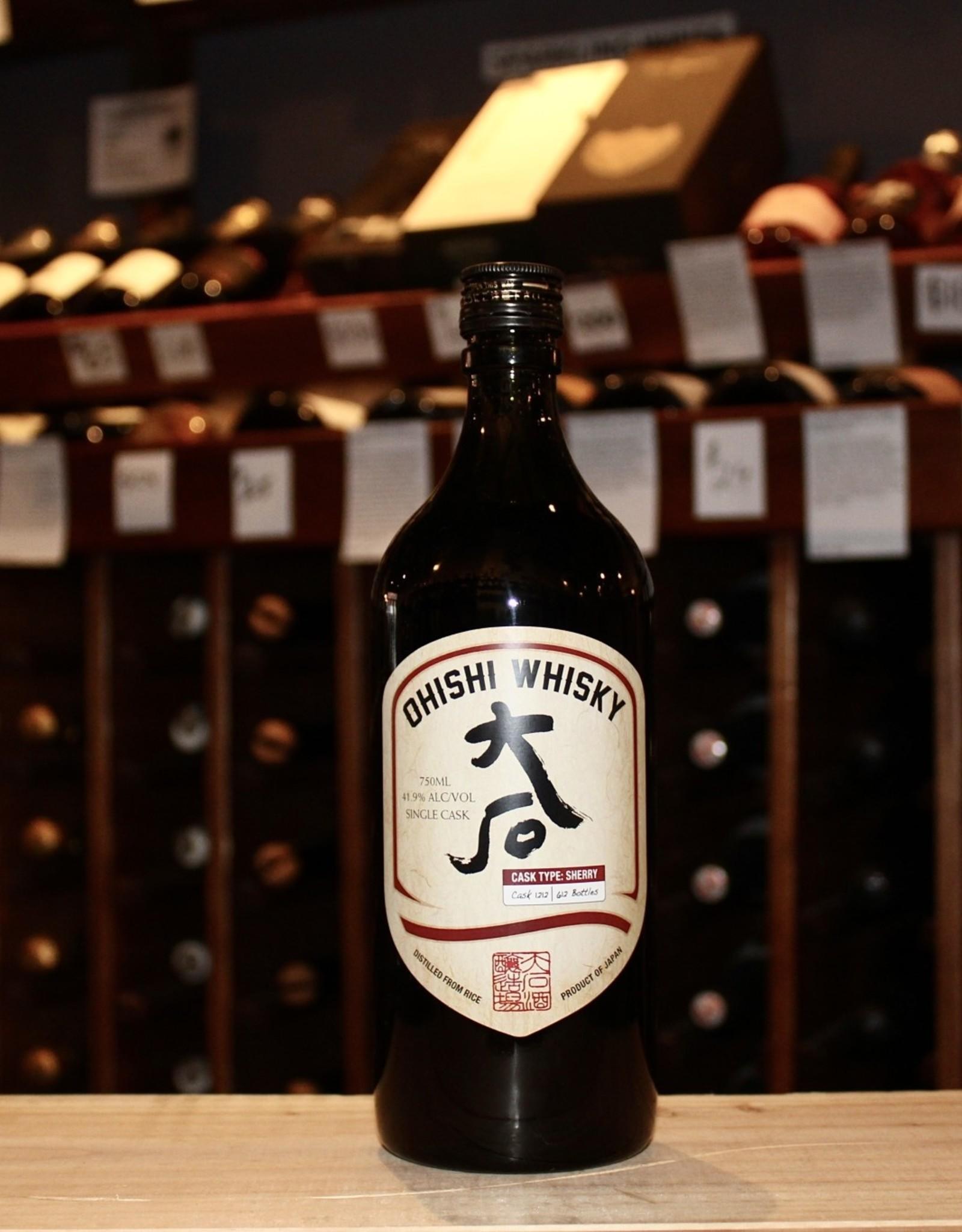 Ohishi Distillery Single Cask Rice Whisky #1212 - Kyushu, Japan