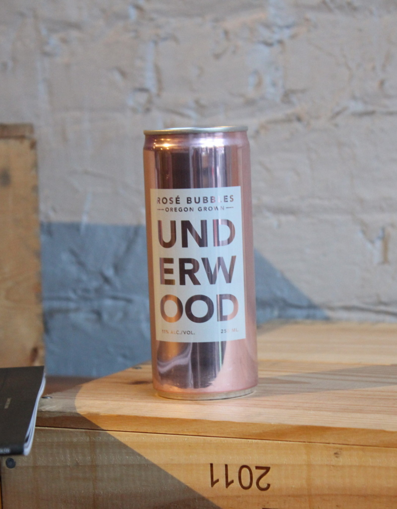 Wine NV Underwood Bubbles Sparkling Rose - Oregon (250ml slim can)