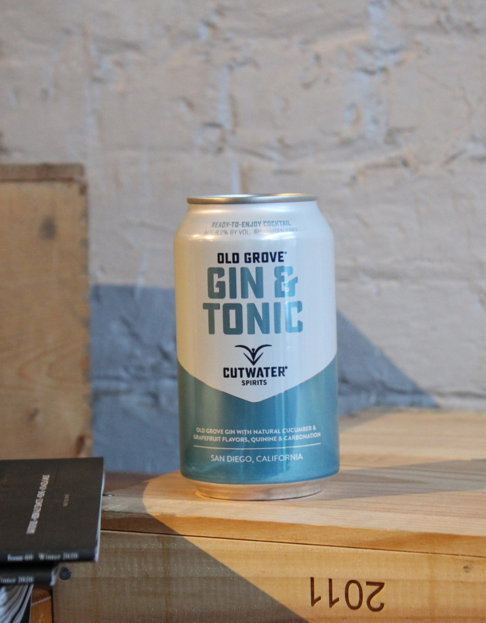 Cutwater Gin & Tonic - CA (12oz can)