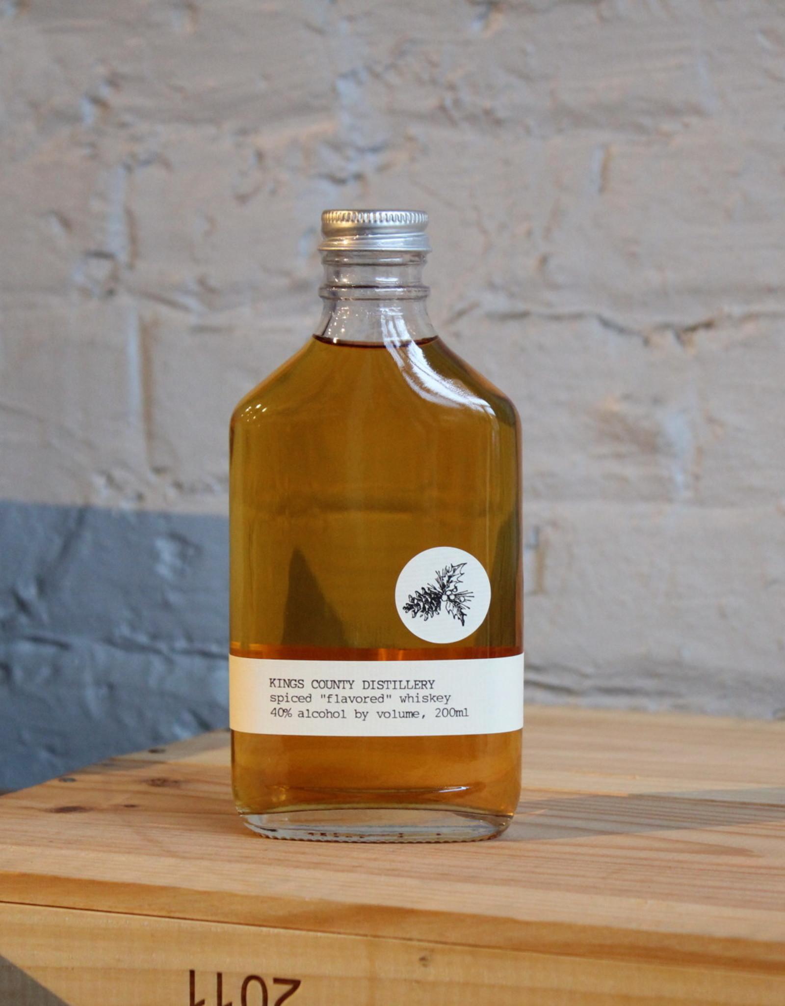 Kings County Distillery Spiced Whiskey - Brooklyn, NY (200ml)