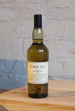Caol Ila  12yr Single Malt Scotch Whisky - Islay, Scotland (200ml)