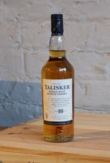 Talisker 10yr Single Malt Scotch Whisky - Isle of Skye, Scotland (200ml)