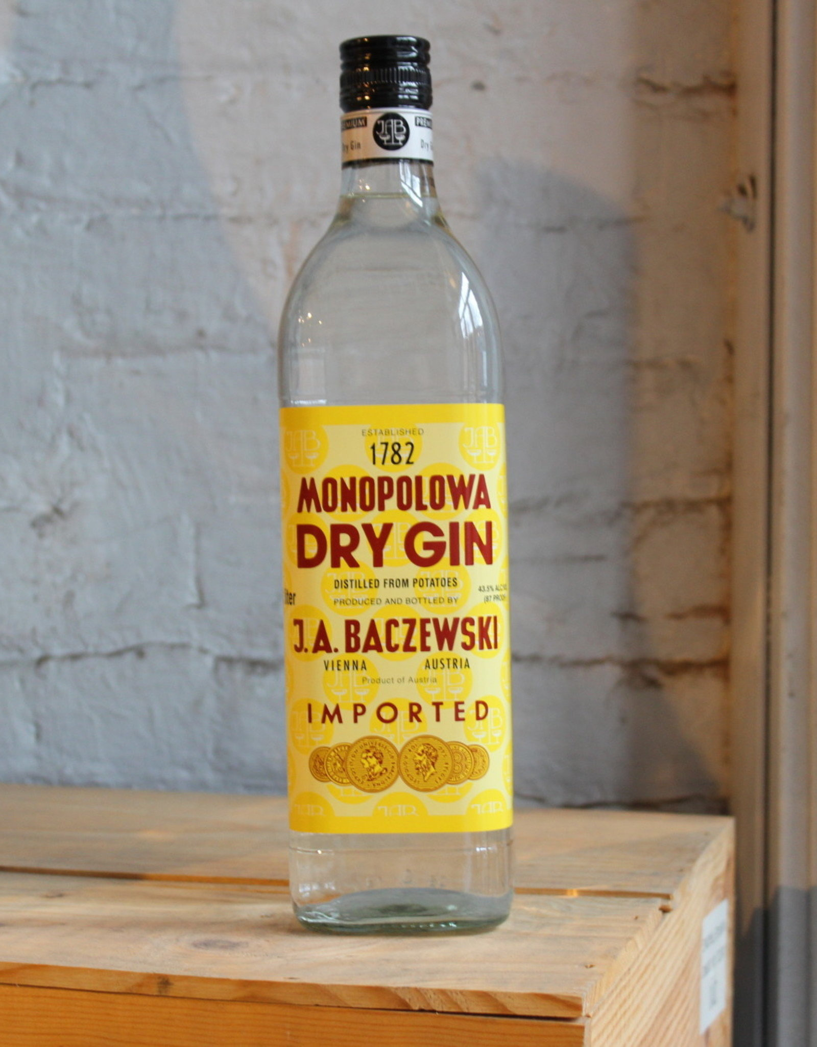 Monopolowa Gin - Vienna, Austria (1Ltr)