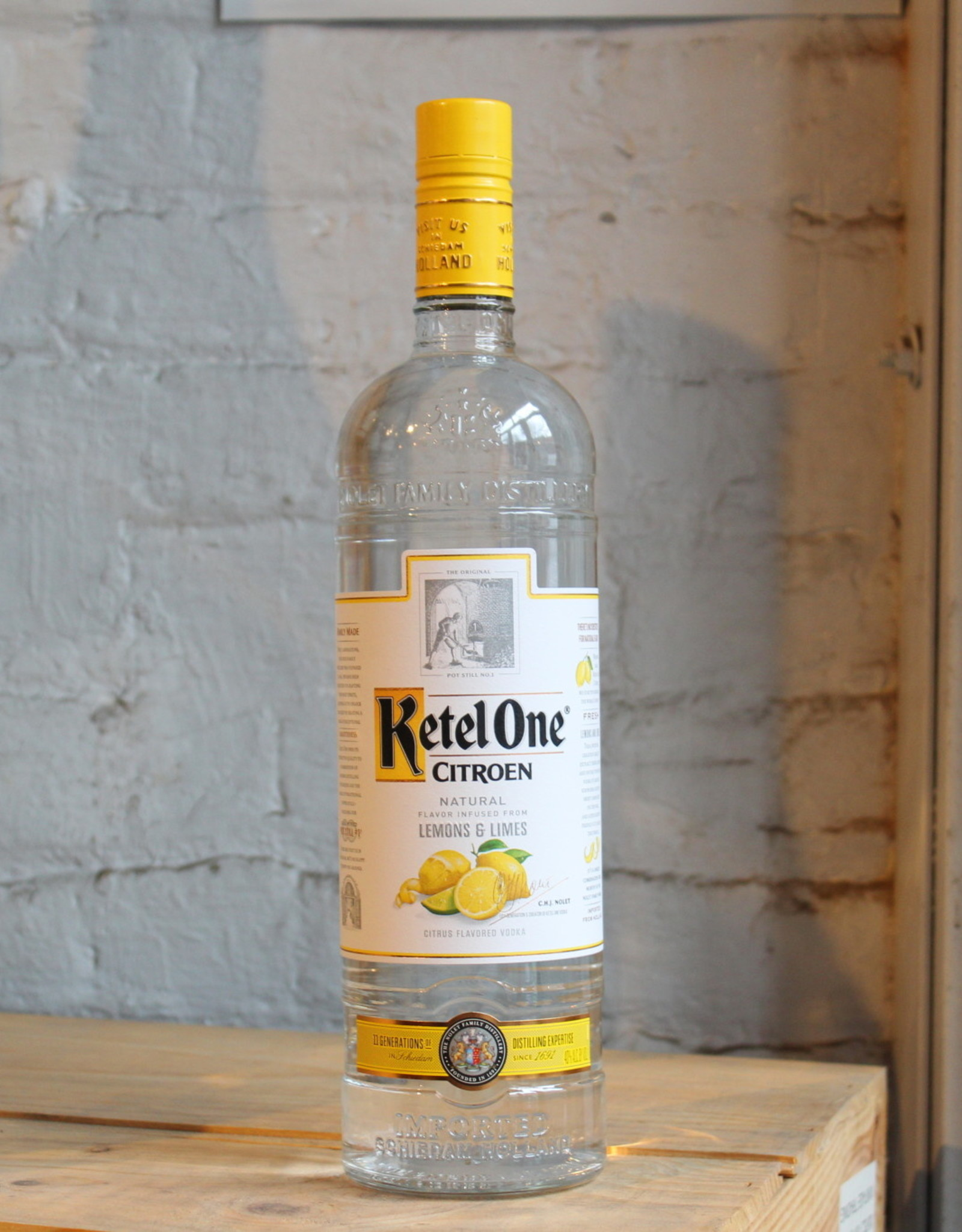 Ketel One Citroen Vodka - Holland (1Ltr)