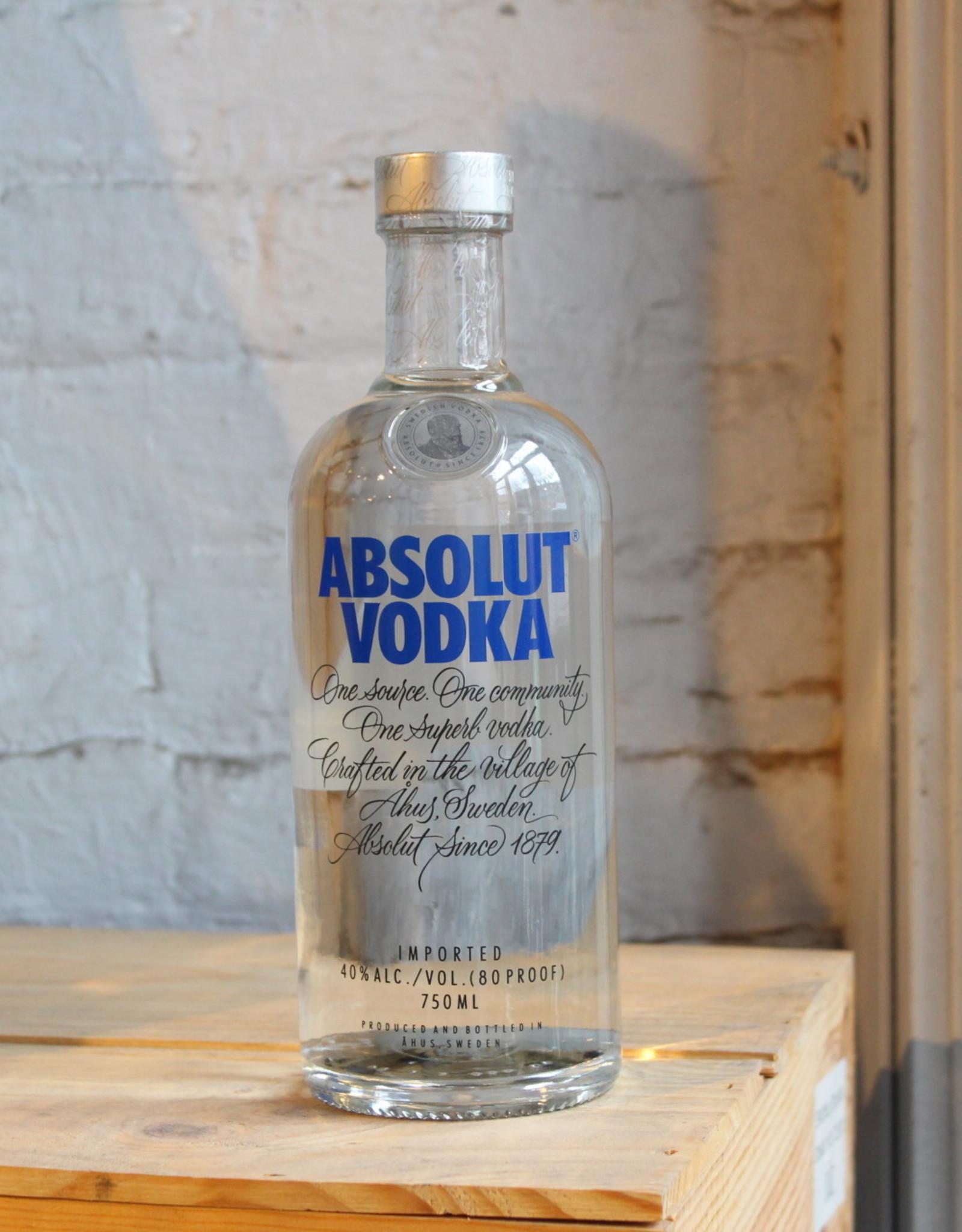 Absolut Vodka - Sweden (750ml)