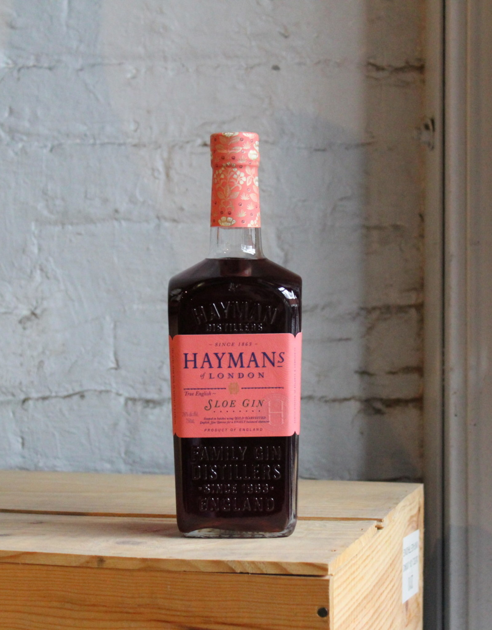 Hayman's Sloe Gin - London, England (750ml)