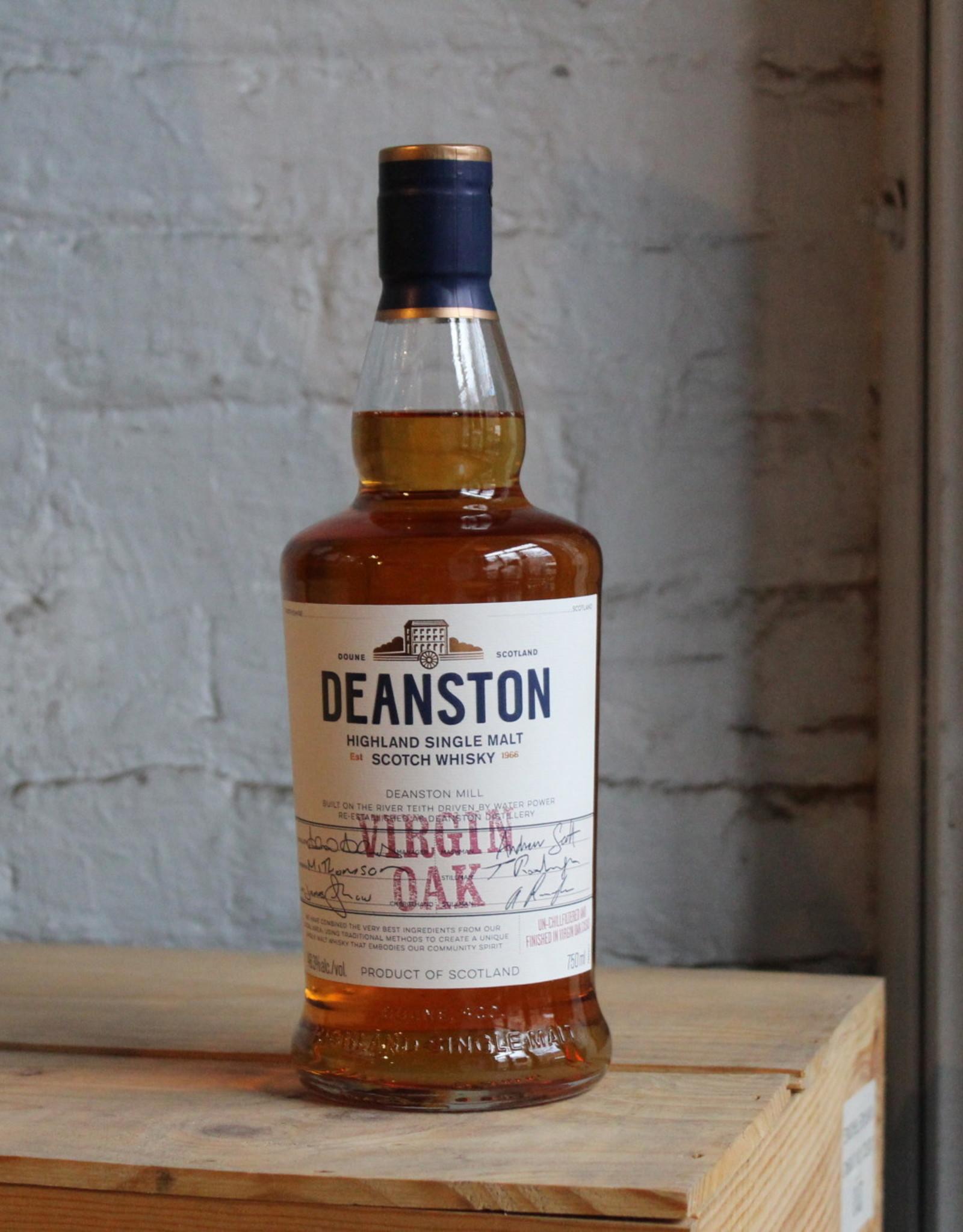 Deanston Virgin Oak Single Malt Scotch Whisky - Highland, Scotland (750ml)