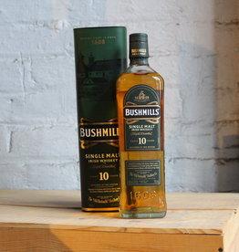 Bushmills 10Yr Single Malt Irish Whiskey - Ireland (750ml)