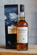 Talisker 10yr Single Malt Scotch Whisky - Isle of Skye, Scotland (750ml)