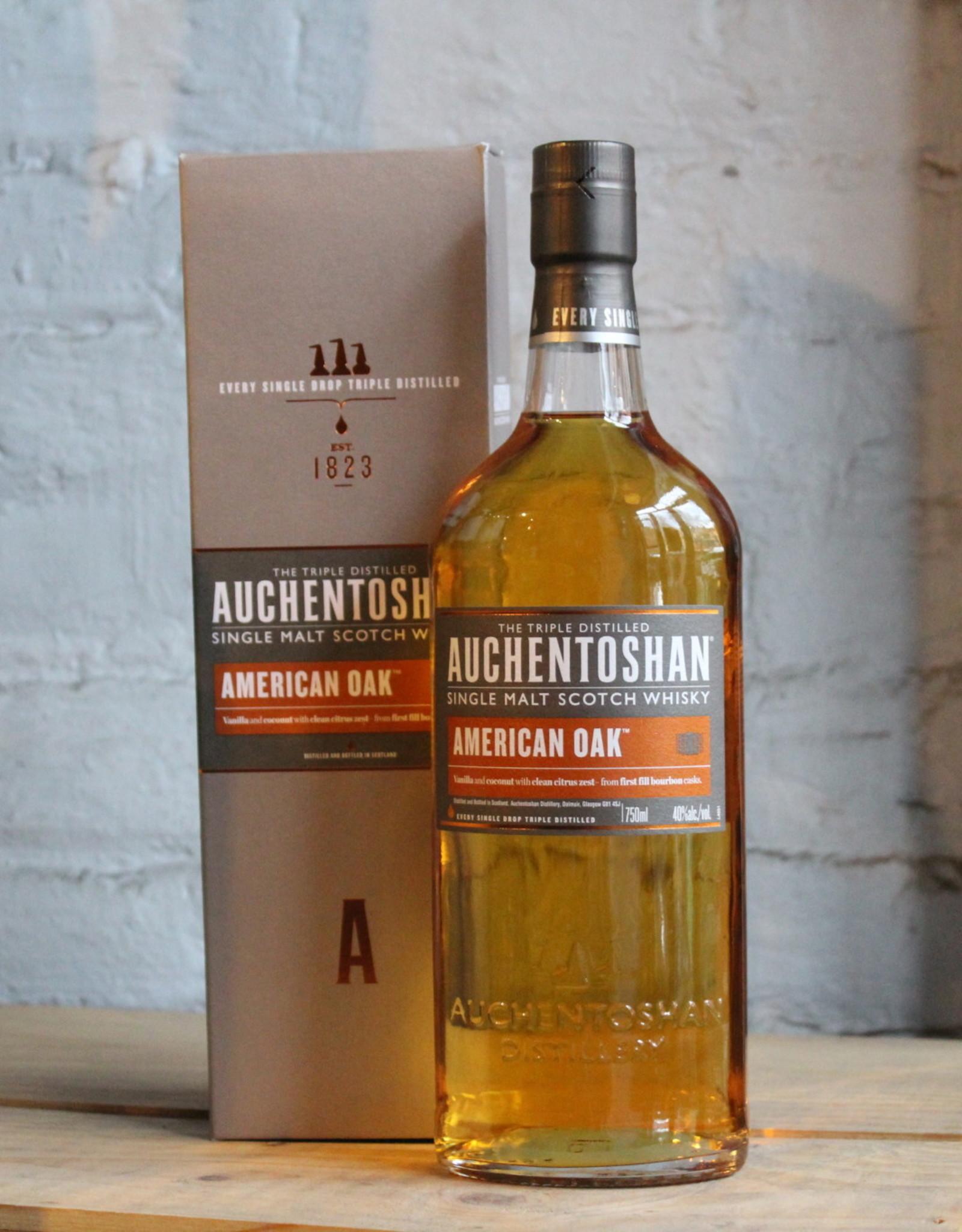 Auchentoshan American Oak Single Malt Scotch - Lowlands, Scotland (750ml)