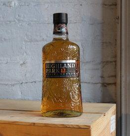 Highland Park 12yr Viking Honour Single Malt Scotch Whisky - Kirkwall, Orkney Islands, Scotland (750ml)