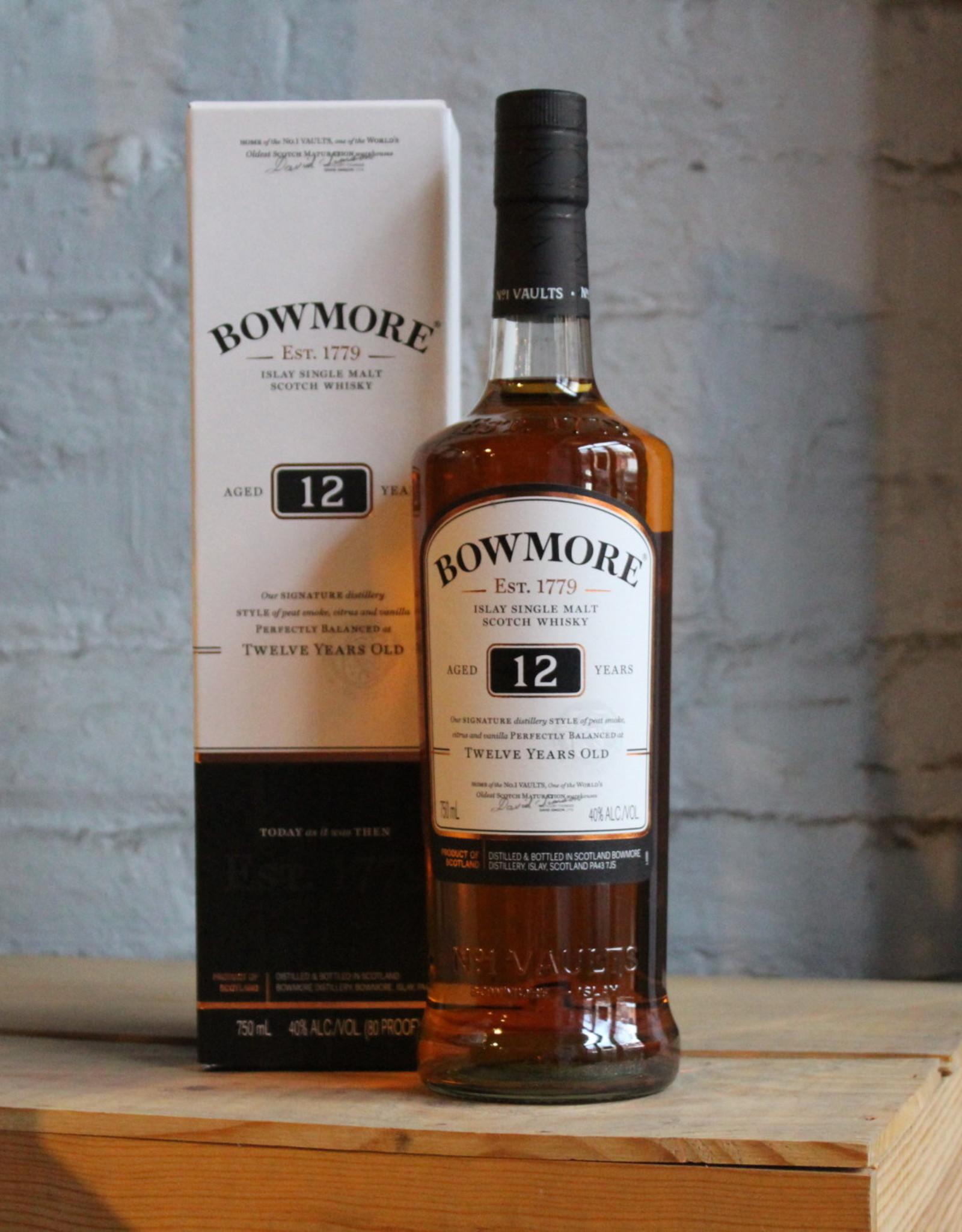 Bowmore 12yr Single Malt Scotch Whisky - Islay, Scotland (750ml)