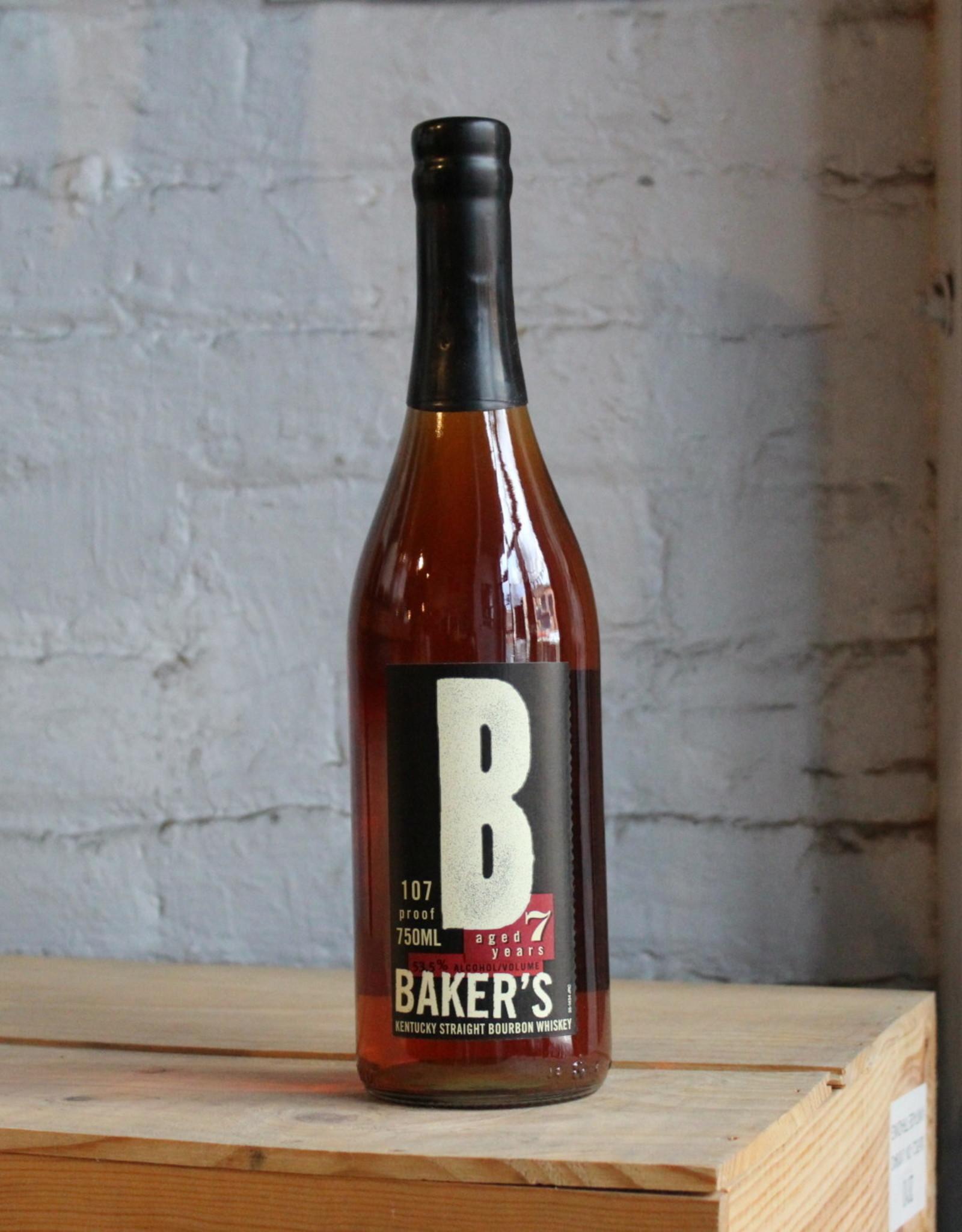 Baker's 7yr Sour Mash Straight Bourbon 107 Proof - Kentucky (750ml)