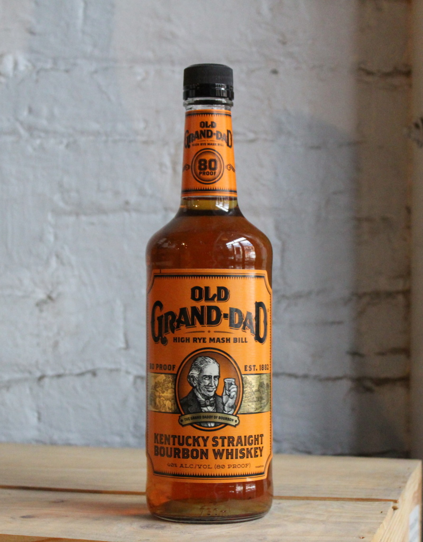 Old Grand-Dad 80 proof Straight Bourbon Whiskey - Clermont, KY (750ml)