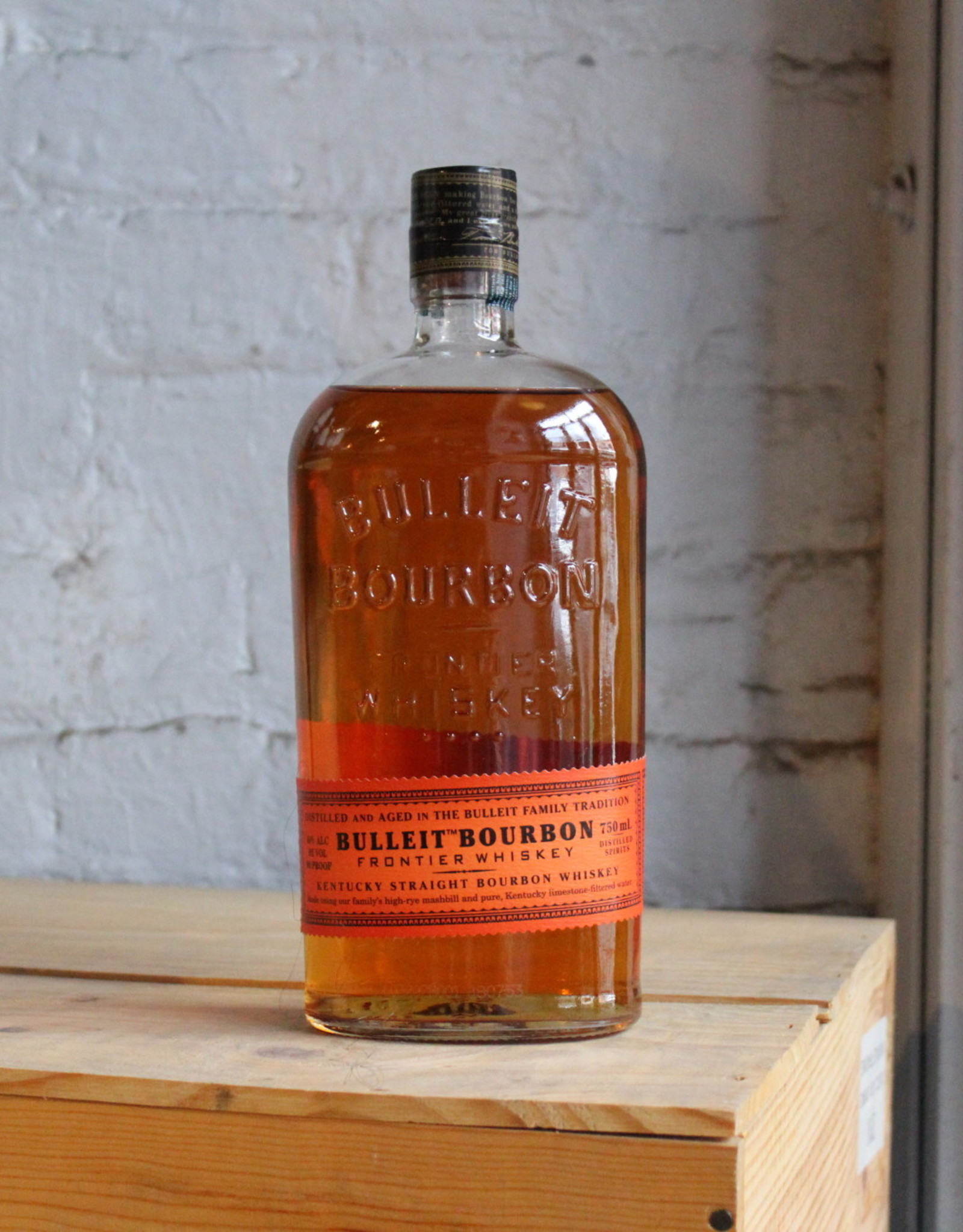 Bulleit Straight Bourbon Frontier Whiskey - Lawrenceburg, KY (750ml)