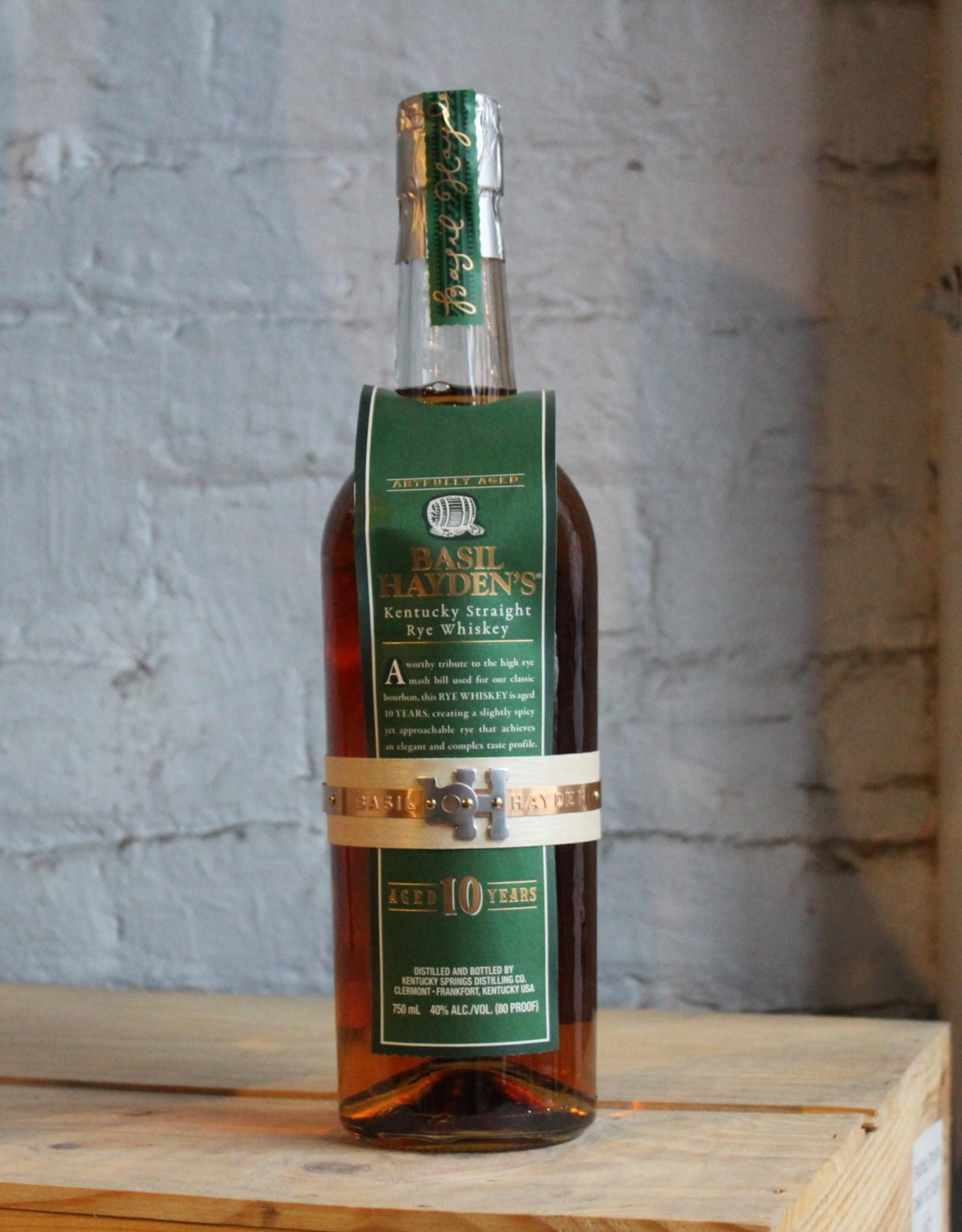 Basil Hayden's 10yr Straight Rye Whiskey - Clermont, KY (750ml)