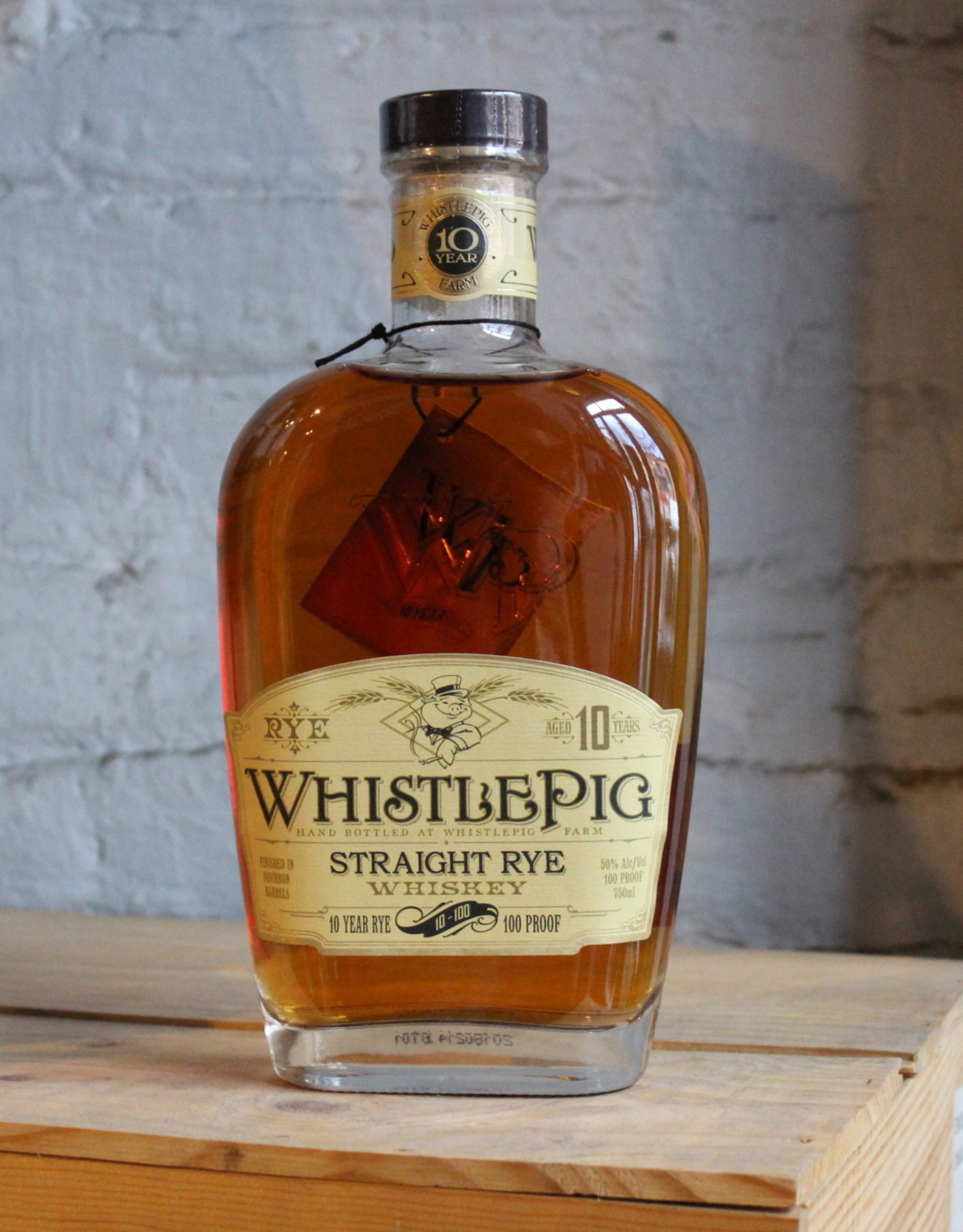 WhistlePig Farms 10 Yr Old Straight Rye - Shoreham, Vermont (750ml)