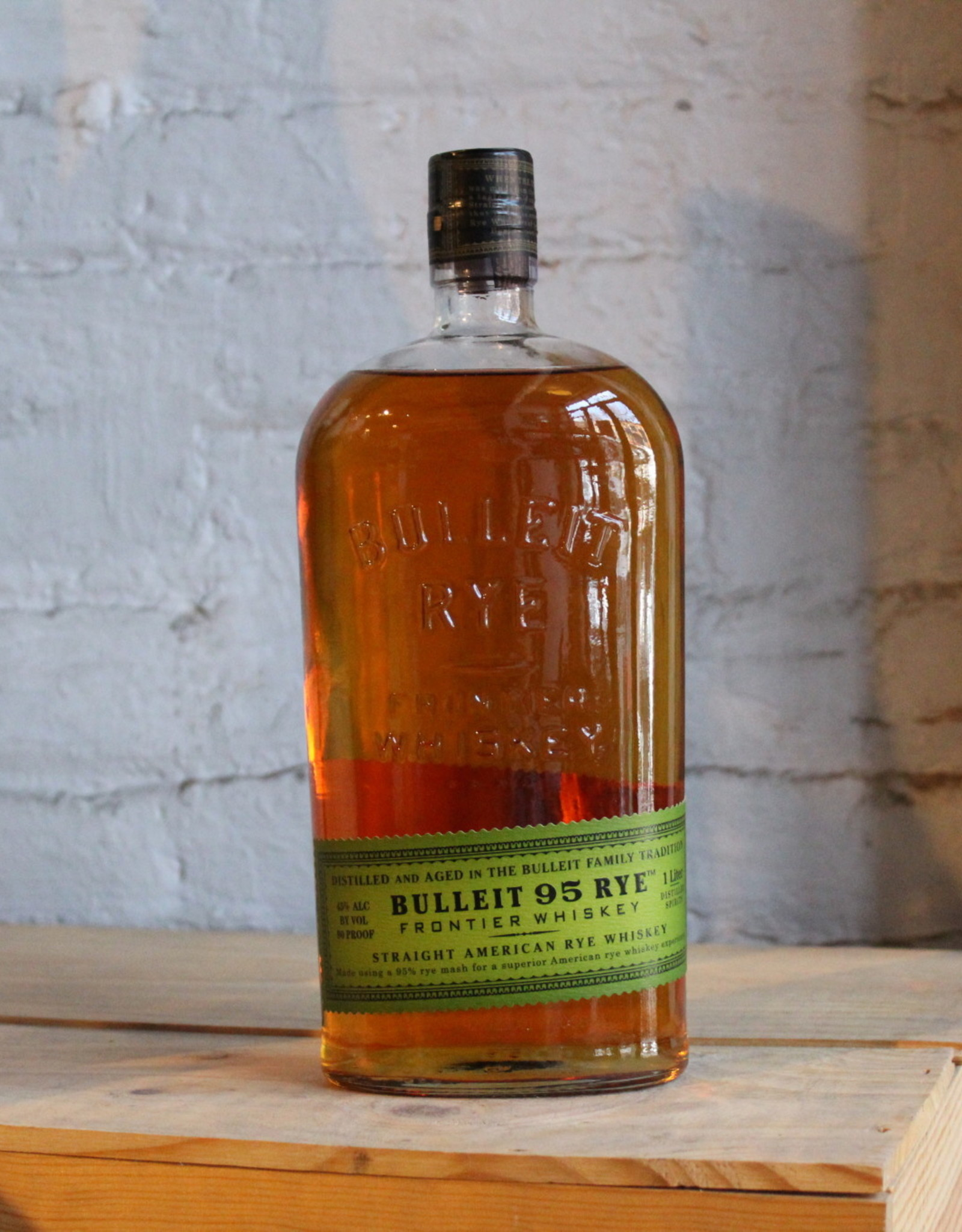 Bulleit Rye Whiskey - Lawrenceburg, KY (1Ltr)