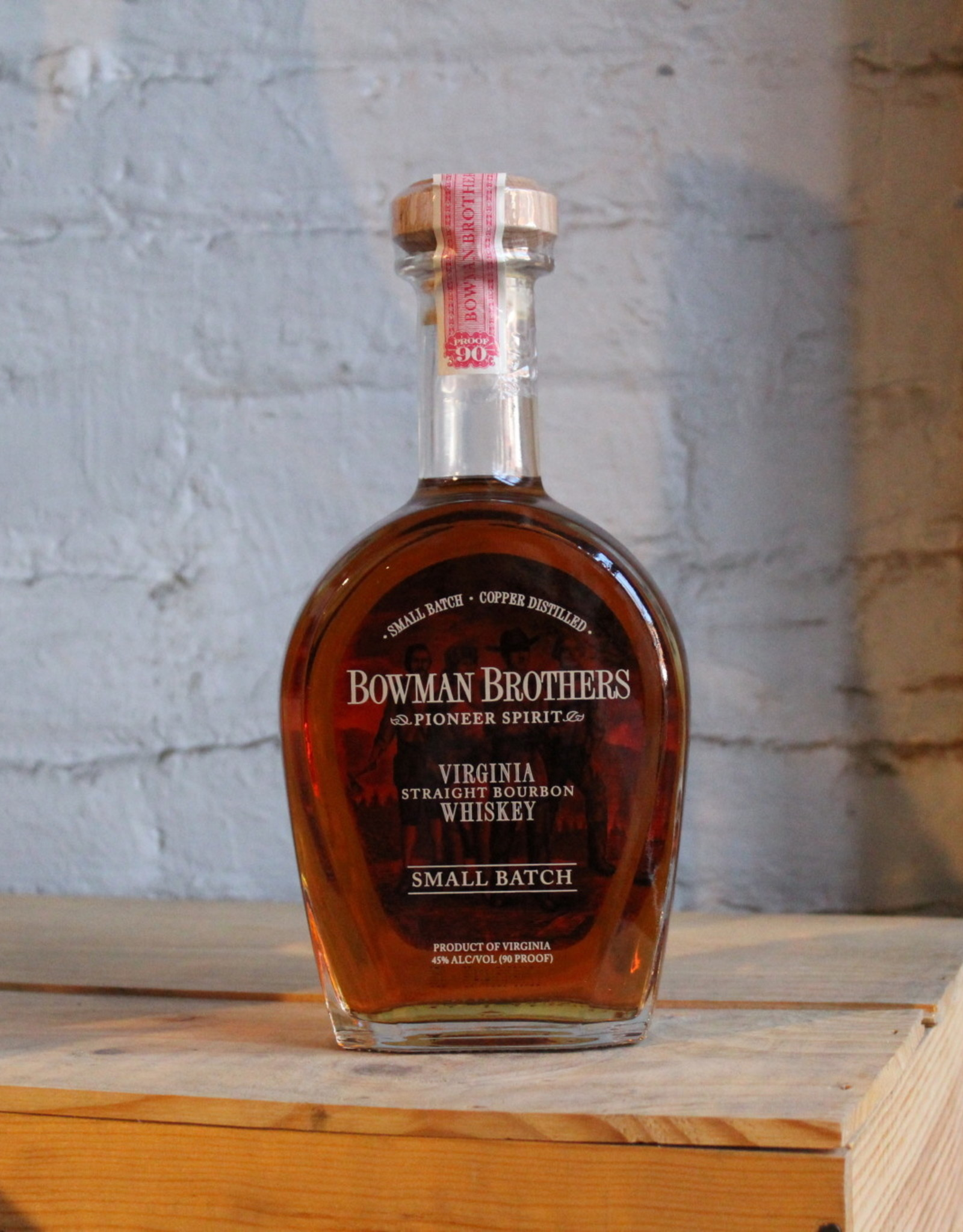 Bowman Brothers Pioneer Spirit Small Batch Straight Bourbon Whiskey - Virginia (750ml)