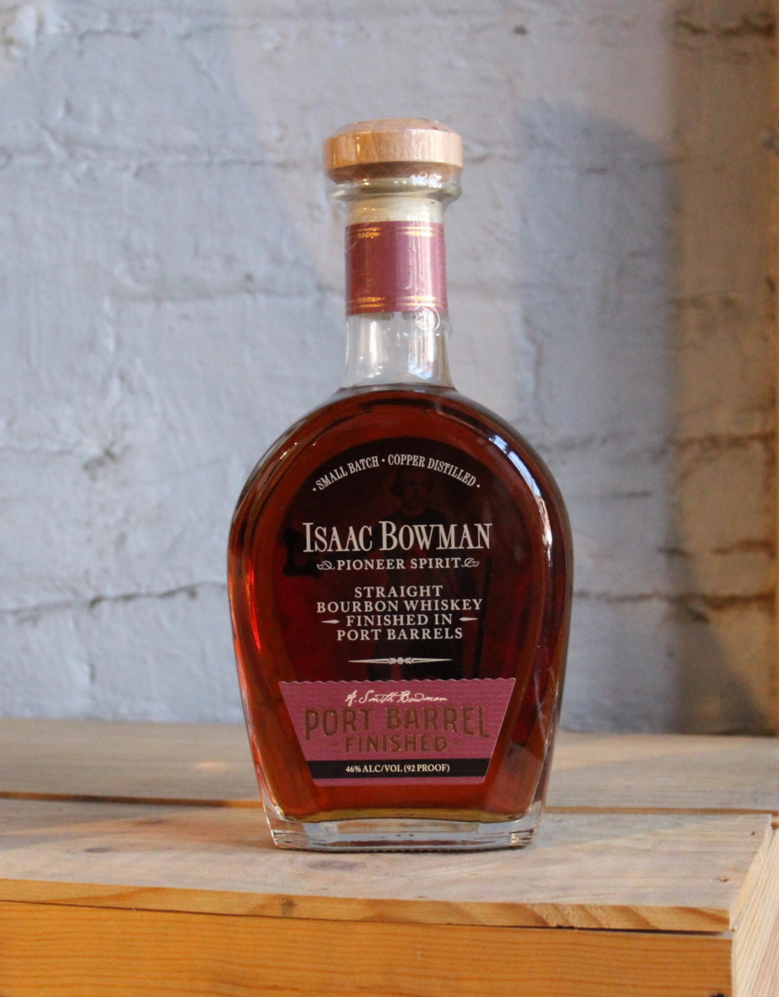 Isaac Bowman Straight Bourbon Whiskey Port Barrel Finish - Virginia (750ml)