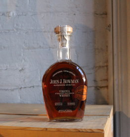 John J. Bowman Pioneer Spirit Single Barrel Straight Bourbon Whiskey - Virginia (750ml)